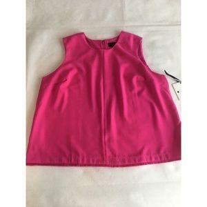 Victoria Beckham Target Pink Fuchsia Sleeveless 2X